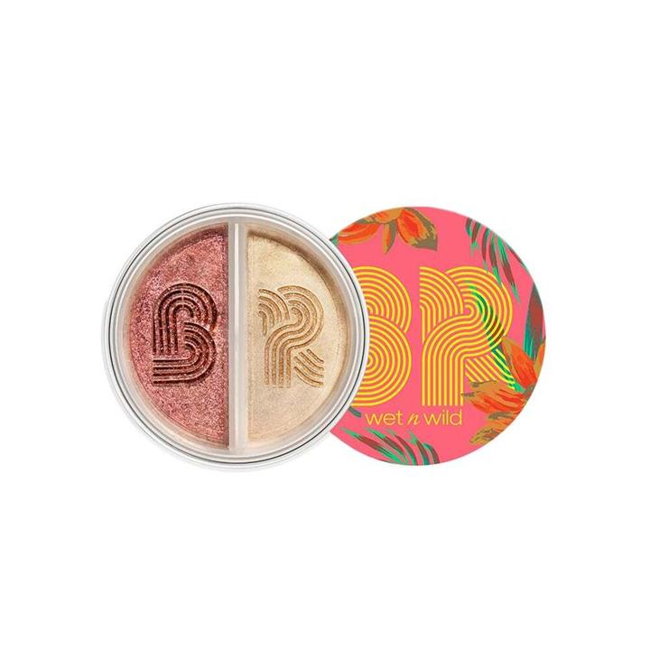 wet n wild Bretman Rock Collection Loose Highlighting Duo Jungle Rock