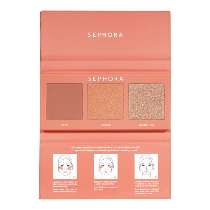 Sephora Collection #CHEEKSTORIES Face Palette Sunrise Mystery
