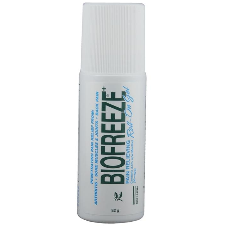Biofreeze Pain Relieving Roll-On Gel 82g