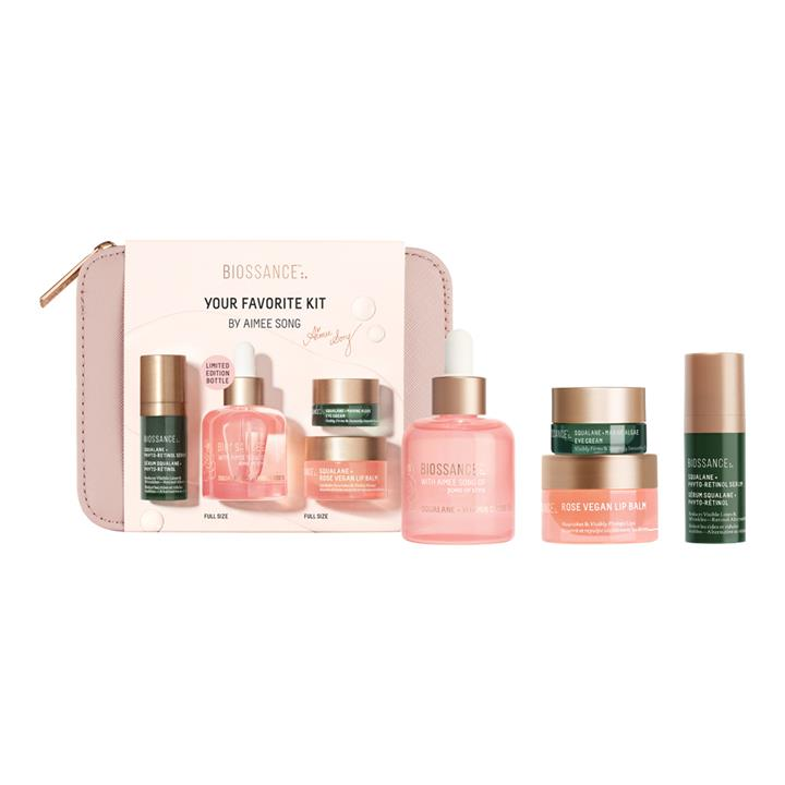 Biossance Your Favorite Kit By Aimee Song Skincare Set
