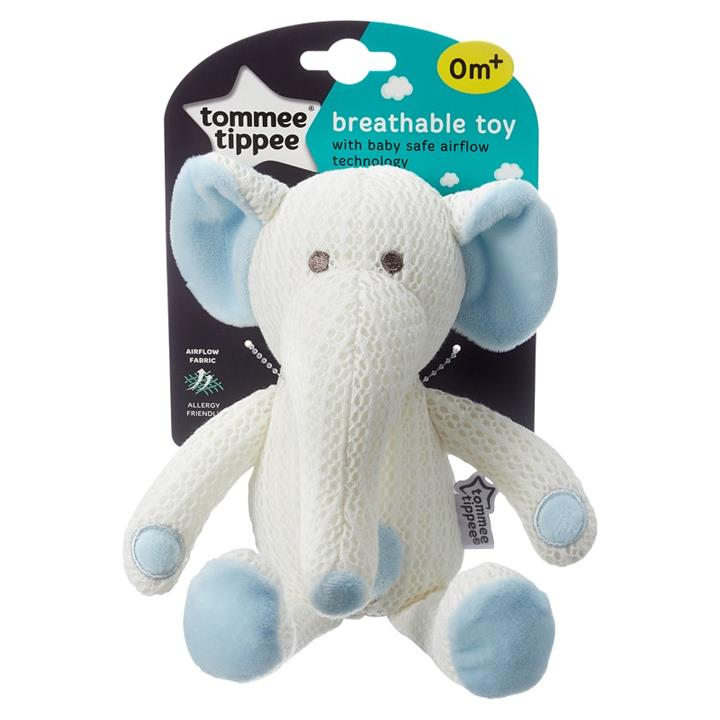 Tommee Tippee Breathable Toy (Eddy The Elephant)