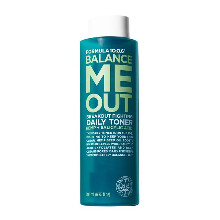 Formula 10.0.6 Balance Me Out Breakout Fighting Daily Toner 200ml