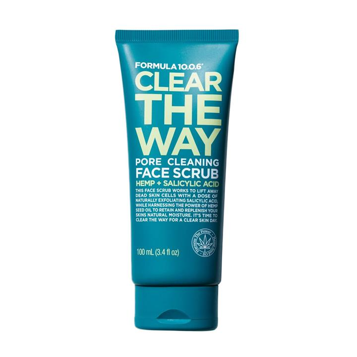 Formula 10.0.6 Clear The Way Pore Clearing Face Scrub 100ml