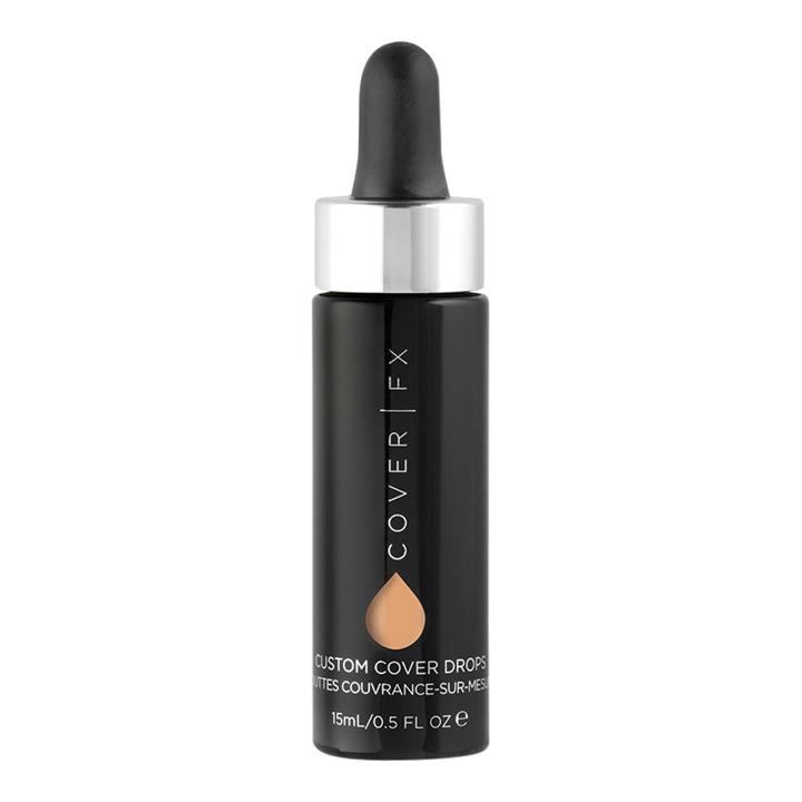 Cover FX Custom Cover Drops N60: For medium-deep skin with neutral undertones