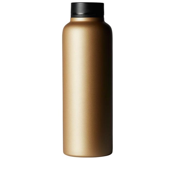 T2 Tea Stainless Steel Flask – Gold