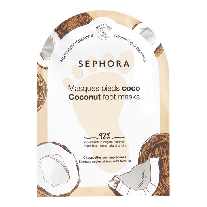 Sephora Collection Foot Masks Coconut