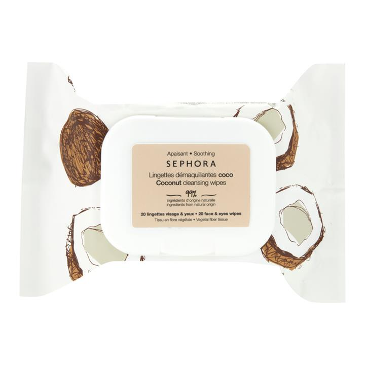Sephora Collection Cleansing Face Wipe Coconut