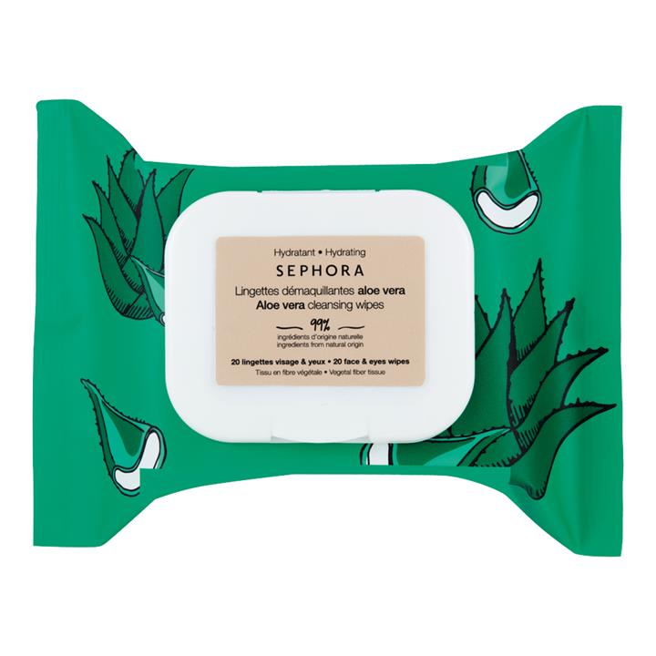 Sephora Collection Cleansing Face Wipe Aloe Vera