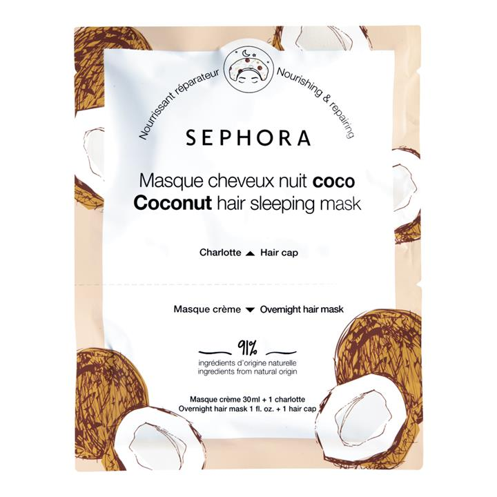 Sephora Collection Hair Sleeping Masks Coconut