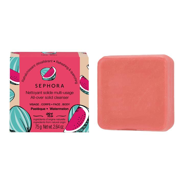 Sephora Collection All-Over Face & Body Solid Cleanser Watermelon