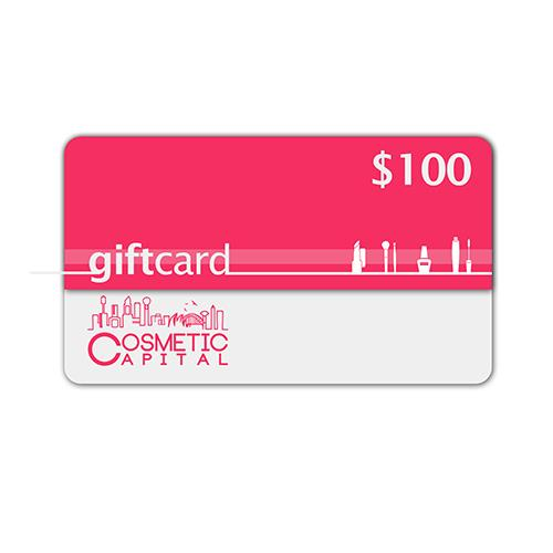 $100 E-Gift Voucher at Cosmetic Capital
