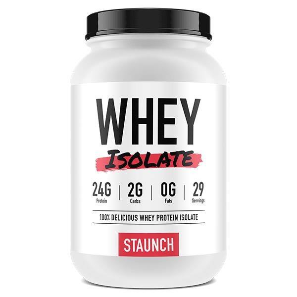 Staunch Nutrition Whey Isolate 2.4lb (1.08kg)
