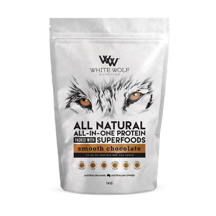 White Wolf Nutrition All Natural All-In-One Protein 1kg