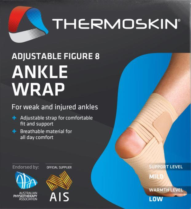 Thermoskin Adjustable Figure 8 Ankle Wrap S/M