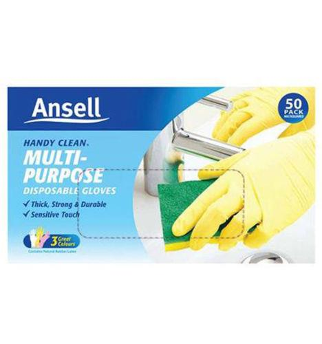 Ansell Handy Clean Disposable Gloves 50 Pack