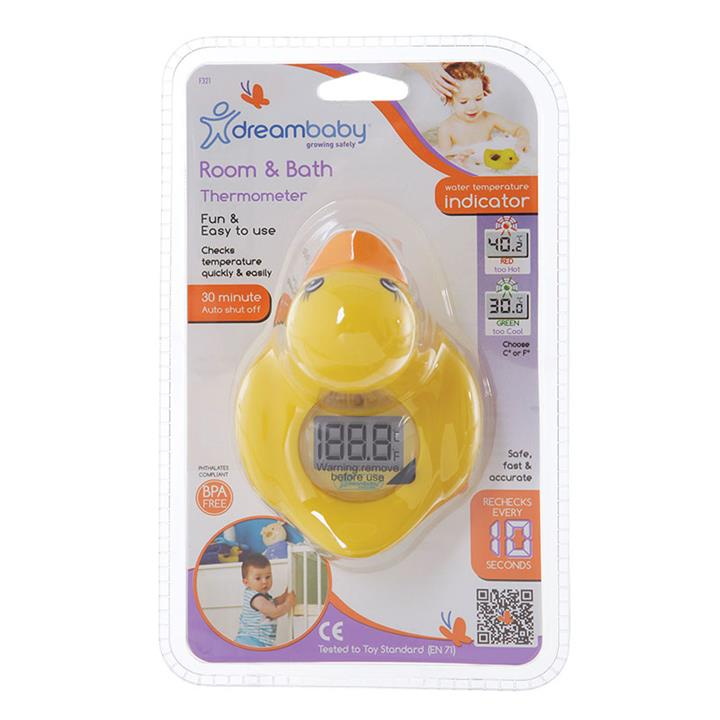 Dream Baby Bath & Room Thermometer Duck