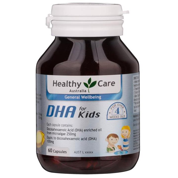 Healthy Care Kids High DHA Cap X 60