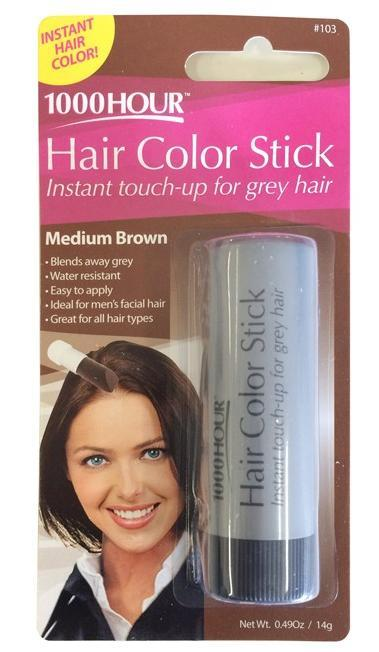 1000 Hour Hair Color Stick Medium Brown 7g
