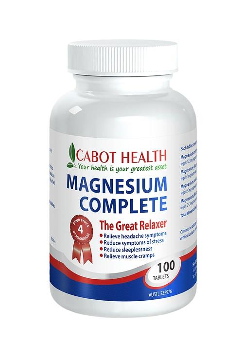Cabot Health Magnesium Complete Tab X 100