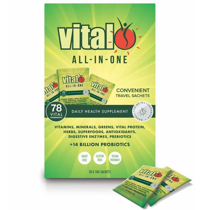 Vital All In One Sachets 10g X 30