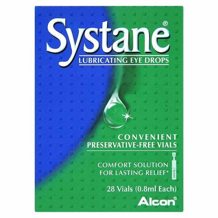 Systane Lubricant Eye Drops 0.8ml X 28