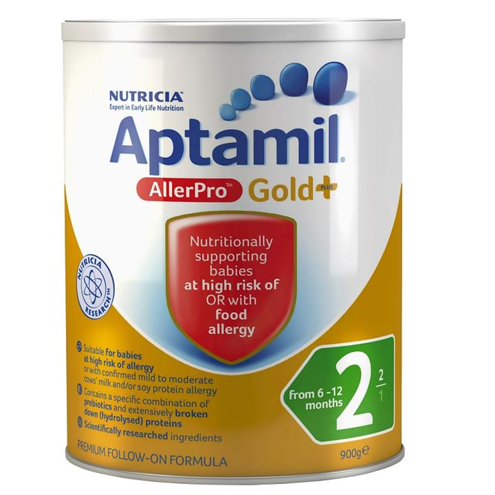 Aptamil Allerpro Syneo 2 Follow-On Formula (From 6-12 Months) 900g (LIMIT 2 CANS PER ORDER)