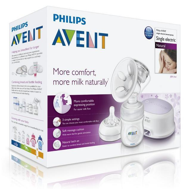 Avent Comfort Breast Pump Electric