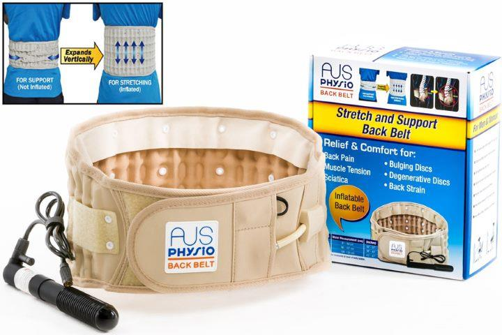 AUS Physio Back Traction Support Brace Belt (Large)