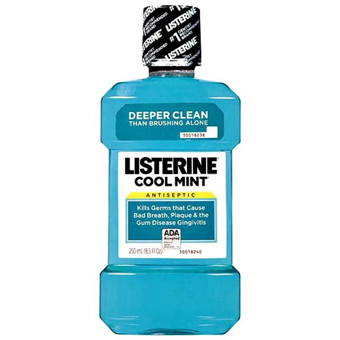 Listerine Coolmint Antiseptic Mouthwash 250ml