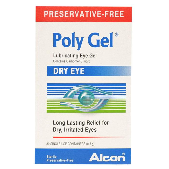 Poly Gel Lubricating Eye Gel X 30 Single Use Containers
