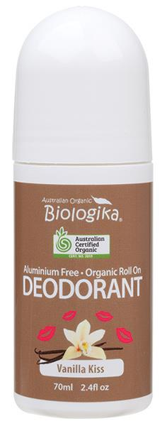 Biologika Organic Deodorant Roll On (Vanilla Kiss) 70ml