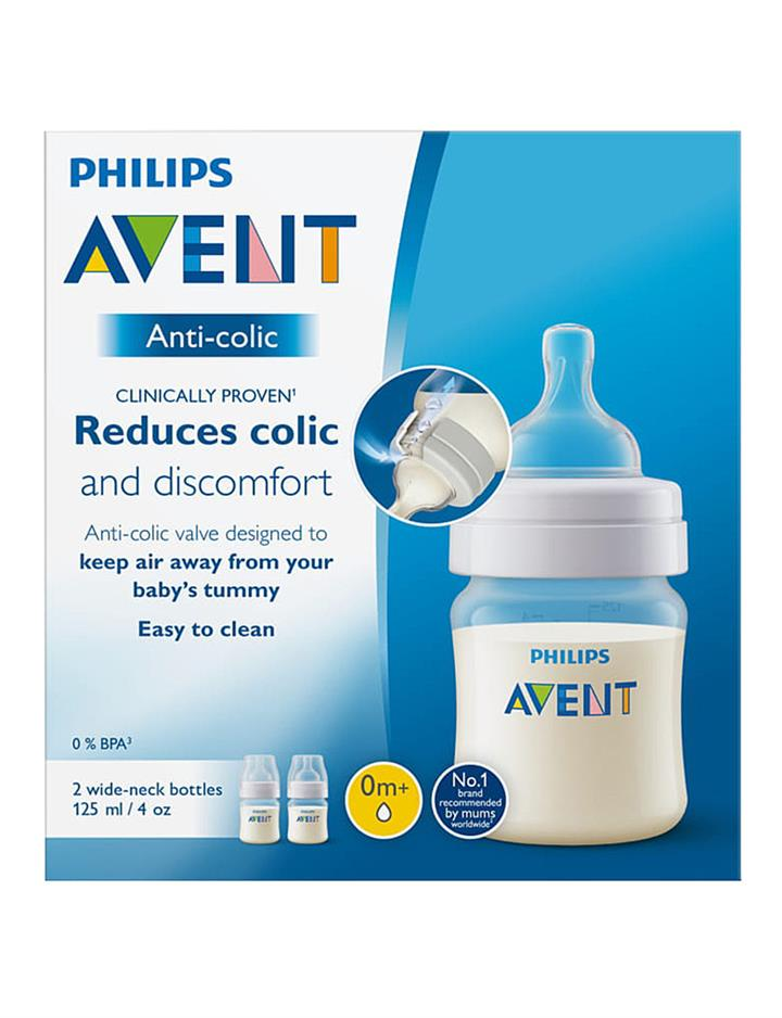 Avent Anti-colic Baby Bottle 125ml X 2