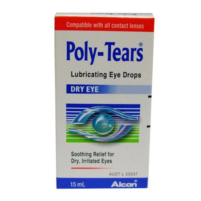 Poly-Tears Eye Drops 15ml