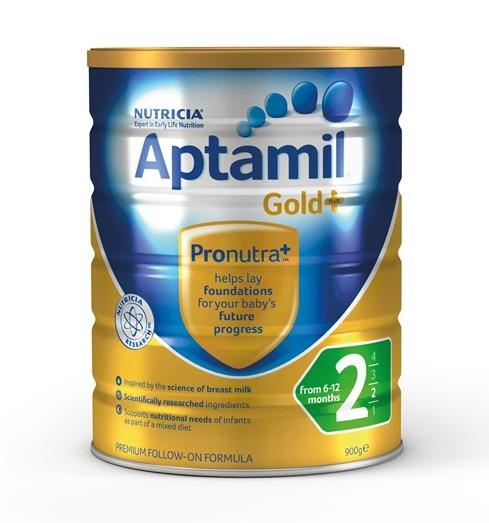 Aptamil Gold Plus 2 Follow-On Formula (From 6-12 Months) 900g – LIMIT 2 CANS PER ORDER