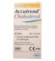 Accutrend Cholesterol Test Strips X 25