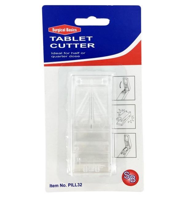 Surgical Basics Tablet (Pill) Cutter (Assorted Colours)