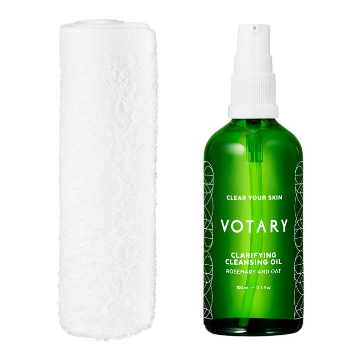 Votary Clarifying Cleansing Oil – Rosemary And Oat 100ml