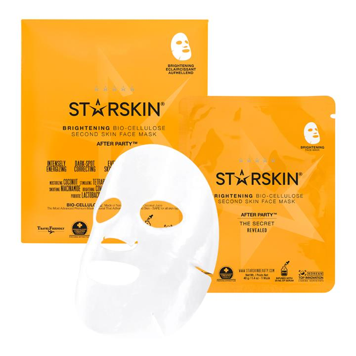 Starskin After Party™ Brightening Bio-Cellulose Second Skin Face Mask 1 Mask