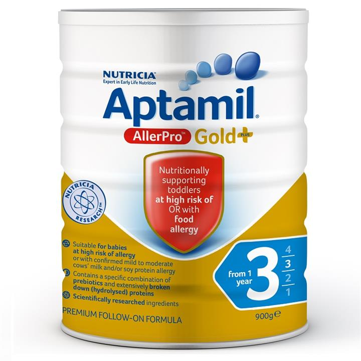 Aptamil Allerpro Syneo 3 Toddler Formula (From 1 Year) 900g (Limit 2 per order)