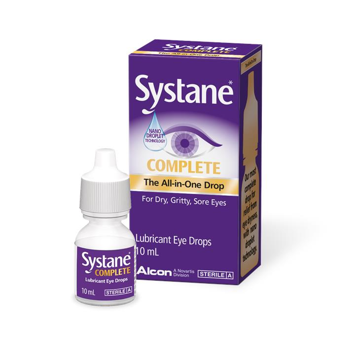 Systane Complete Lubricant Eye Drops 10ml