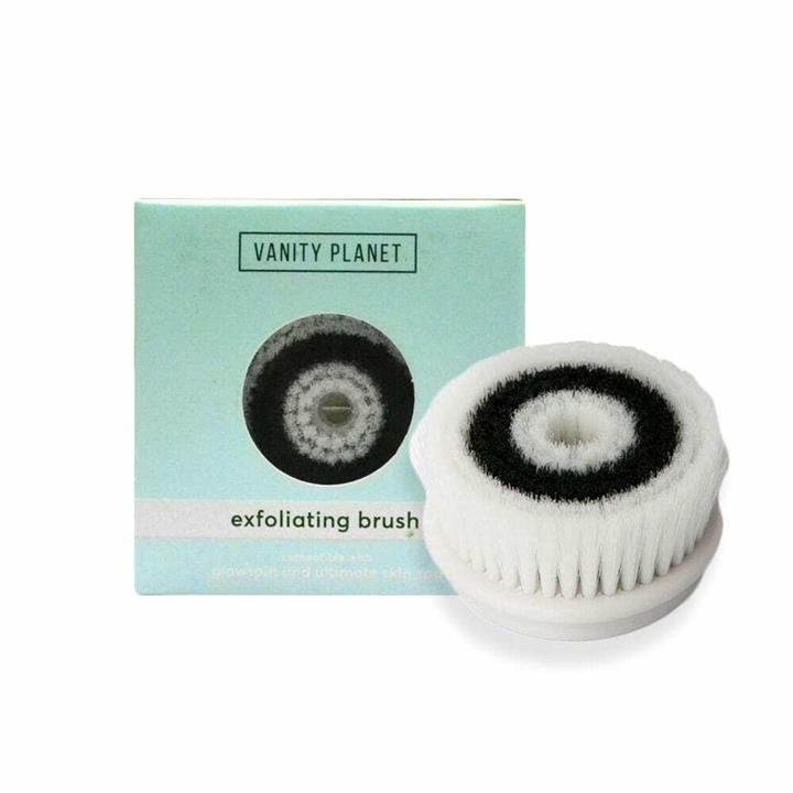 Vanity Planet Exfoliating Replacement Brush Head for Ultimate Skin Spa and GlowSpin