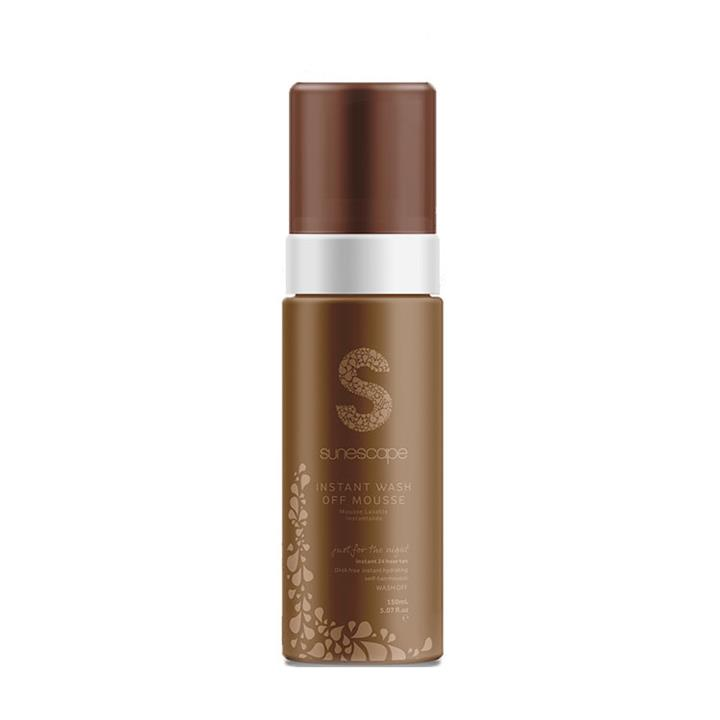 Sunescape Instant Wash Off Mousse – Just For The Night 150ml