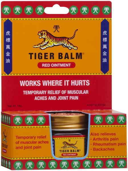 Tiger Balm Ointment Extra Strength Red 18g