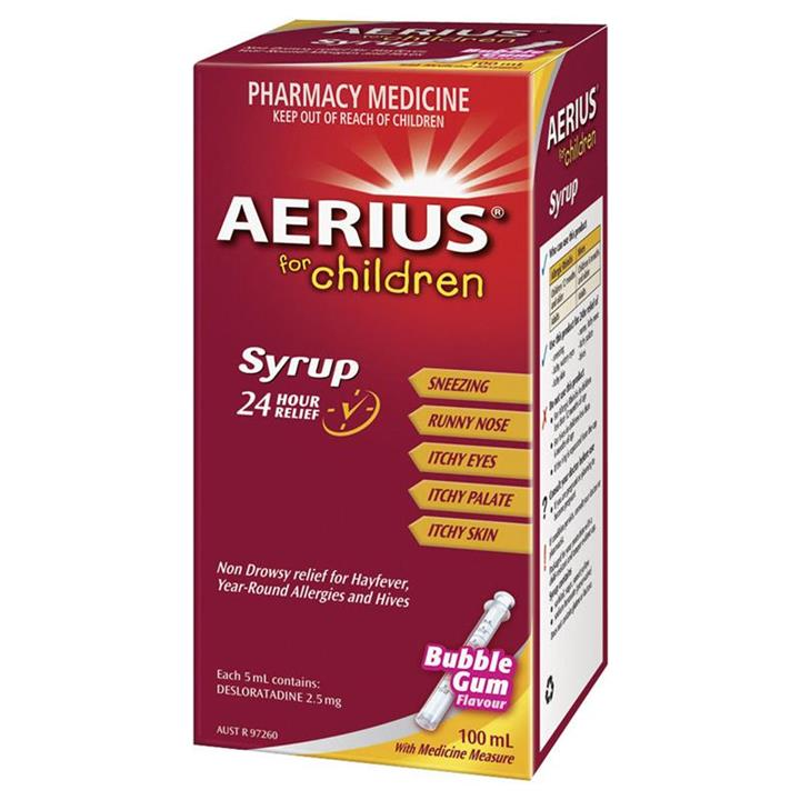 Aerius Syrup for Children 100ml