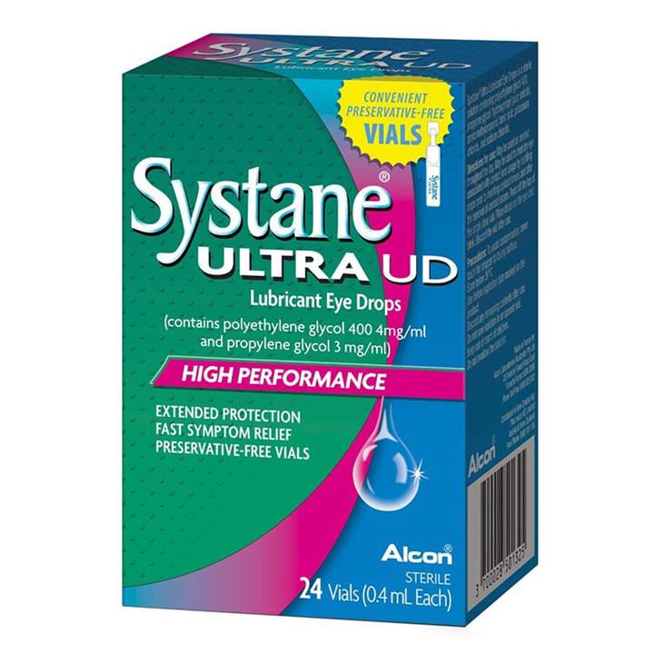 Systane Ultra Unit Dose Eye Drops 0.4ml X 24