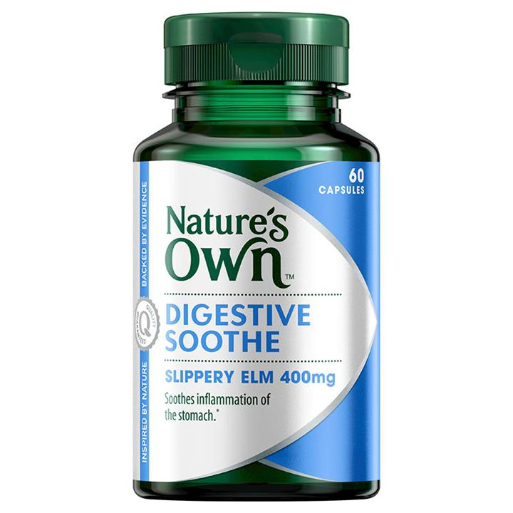 Nature's Own Digestive Soothe Cap X 60