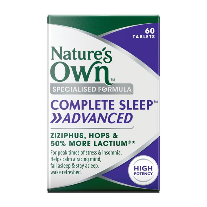 Nature's Own Complete Sleep Advanced Tab X 60