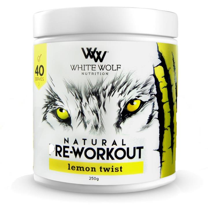 White Wolf Nutrition Natural Pre-Workout 250g