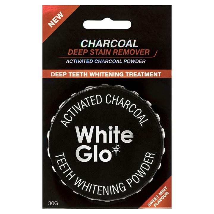 White Glo Charcoal Deep Stain Remover Powder 30g