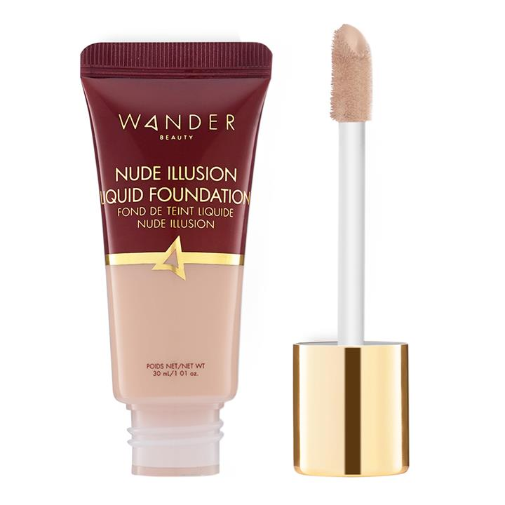 Wander Beauty Nude Illusion Liquid Foundation Fair